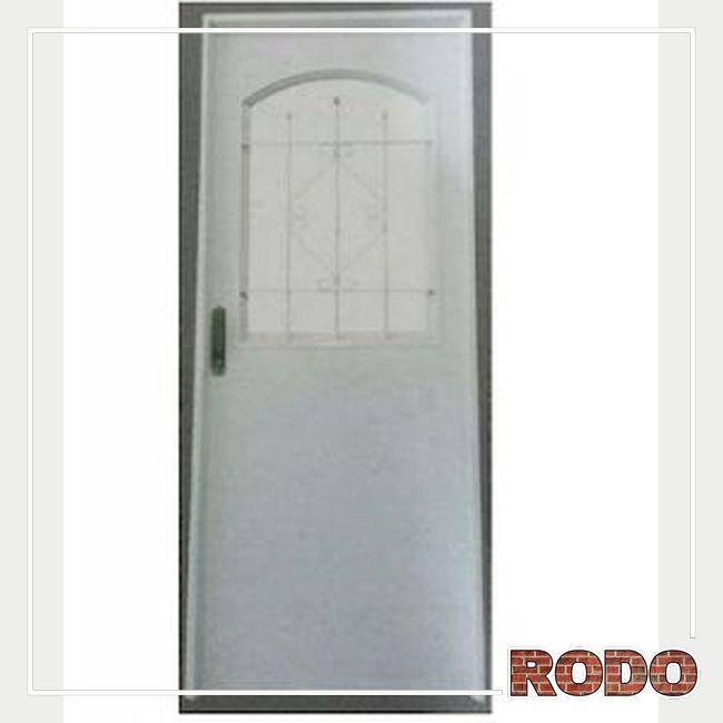 PUERTA D/CH MOD125 C/H 1/2 REJA DER
